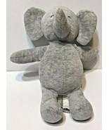 Carters Precious Firsts Grey Elephant Plush Stuffed Animal Rattle Toy 67062 - $17.55