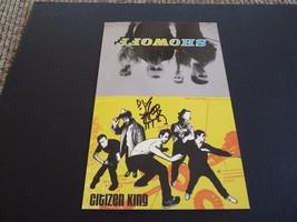 Citizen King DJ Brooks Signed Autographed 5.5x8.5 Promo Card Photo PSA G... - $9.99