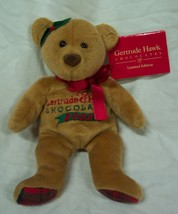 "Mary Meyer Gertrude Hawk 2002 TEDDY BEAR 7"" Bean Bag Stuffed Animal Toy NEW - $14.85"