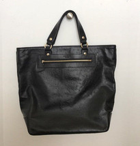 Kate Spade Large Black Leather Tote Handbag - $199.00