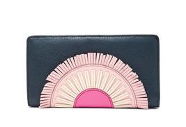 New Fossil Women Caroline Rfid Leather Slim Bifold Wallet Variety Colors - $63.20+