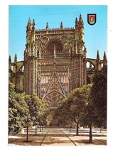 Spain Saville Cathedral Conception Gates Savilla Church 1965 Postcard 4X6 - $5.75