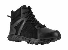 Men's Reebok Work Trailgrip Tactical RB3450 Waterproof Side Zip Boot Black Size - $182.99
