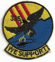 US Army US 335th Transportation Company Direct Support WE SUPPORT Patch - $11.87