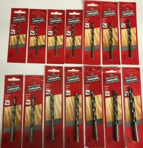 """Vermont American 14 Piece Drill Bit Set  5/32"""" - 3/8"""" - $35.64"""