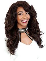 Zury Sis Royal Pre-Tweezed Part Wig Hair Long Curly Diva-H Sista - $63.09