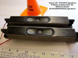 """Sanyo 50"""" FVF5044 Speakers 8 Ohms 8 Watts KLS 42-WDF315-XX1G - $11.26"""