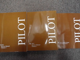 2012 Honda Pilot Service Repair Shop Manual Set Factory New Books 3 Volume Set - $316.80