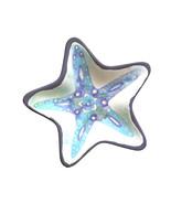Starfish Shape Melamine Tidbit Dessert Plates Set of 6 Nautical Beach Ho... - $29.58