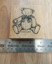 STAMPIN UP 1995 RETIRED TEDDY BEAR STAMPS CARDS CRAFTS # - $7.87