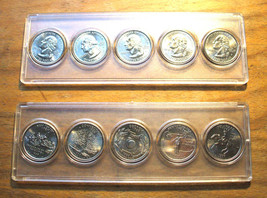 1999 - P Uncirculated STATE QUARTER SET - IN HOLDER - $10.95