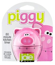 MSC International 78039 Joie Piggy Wiggy Timer, 60-Minute Mechanical, - $15.24