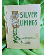 Silver Linings A Collection of Poems by Everett Thornton Brown 1912 - $18.00