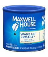 MAXWELL HOUSE WAKE UP ROAST MEDIUM ROAST GROUND COFFEE 30.65OZ CANNISTER - $9.64