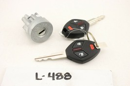 NEW OEM IGNITION SWITCH WITH 2 KEY FOB MITSUBISHI OUTLANDER 13-16 SPORT ... - $143.55