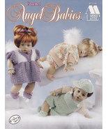 Angel Babies, Annie's Crochet Pattern Booklet 871216 Boy & Girl Doll Clo... - $12.95
