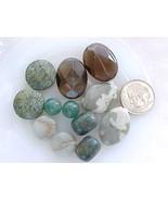 Beads DIY Earrings Smoky Quartz Ocean Terra JasperAzurite Serpentine Gre... - $12.99