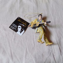 KURT S ADLER RESIN ELVIS® IN GOLD SUIT w/GUITAR ELVIS PRESLEY CHRISTMAS ... - $8.99