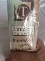 "New TIMELESS FRAMES Solid Wood Frame Sectional 2 x 26 "" pieces.  Need Tw... - $15.88"