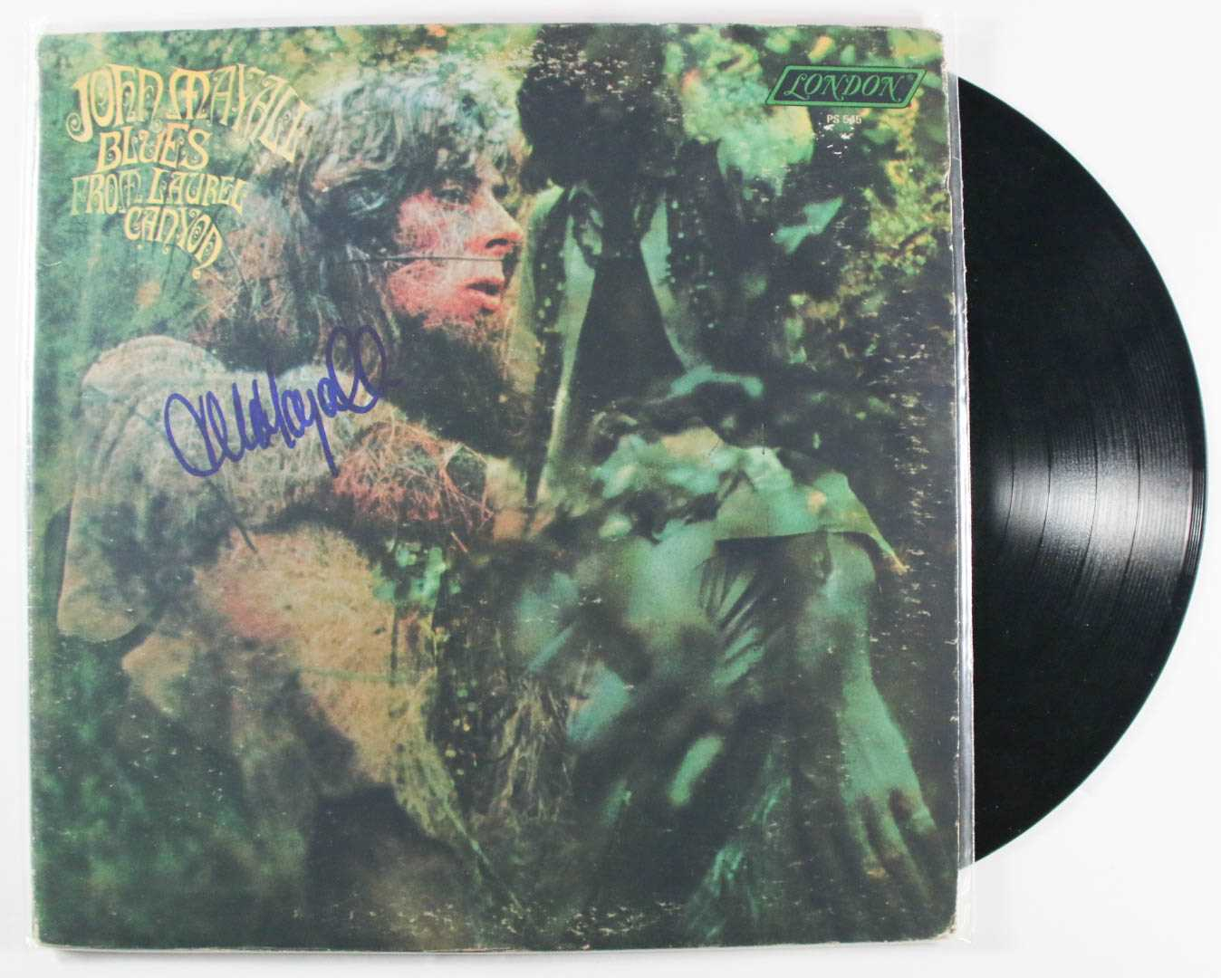 "Primary image for John Mayall Signed Autographed ""Blues From Lauel Canyon"" Record Album"