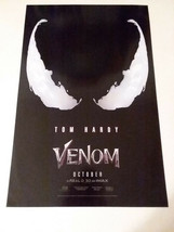 Venom - Official Movie Poster - Sony Pictures - Free Shipping - $14.03
