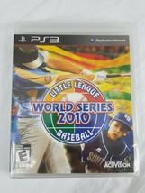 Little league World Series 2010 Baseball PlayStation 3 New Free Shipping - $13.00