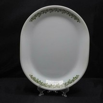 "Vintage Corelle Spring Blossom 12"" Oval Serving Platter Crazy Daisy - $19.79"