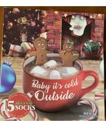 15 Pair of Men's/Anyone's Christmas Socks: Still Packaged - $25.74