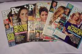 People Magazine 6 piece Back Issue Lot - $10.09