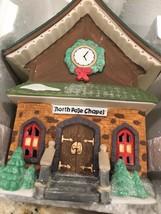 Dept 56 North Pole Series Village Lighted North Pole Chapel - $16.44