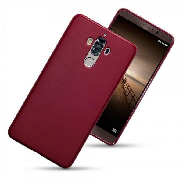 Huawei Mate 9 Case Cover  Impact Proof Flexible Tensile  TPU Cover Red RX™ - $6.47