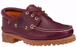 Men's Timberland ICON 3-EYE CLASSIC HANDSEWN LUG SHOE, TB050009 648 Size... - $129.95