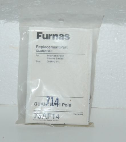 Furnas 75AF14 Replacement Part Contact Kit Innova Series Size 00 thru 1 3/4