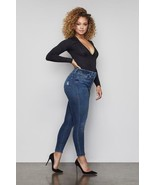 New Good American Good Waist Ripped Jeans Blue Jean Size 28 Size 6 - $85.00