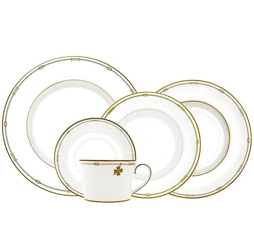 Monique Lhuillier Royal Doulton CHARMS 20 Piece Place Setting Made England NEW - $264.90
