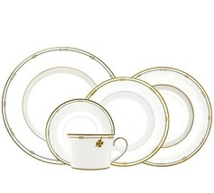 Monique Lhuillier Royal Doulton CHARMS 20 Piece Place Setting Made Engla... - $264.90