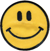Wrights Iron-On Applique-Yellow Happy Face - $6.54