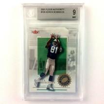Koren Robinson 2001 Fleer Authority Rookie Card #105 BGS 9 Mint NFL Seah... - $4.90
