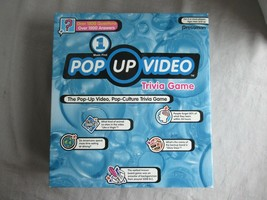 Pressman Pop Up Video Trivia Game pop-culture ages teen and up  2+ players - $12.69