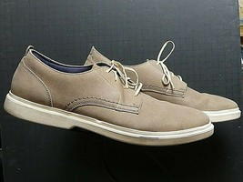 Men's Cole Haan Grand.OS Taupe Leather Casual Cool Sneaker Sz. 10.5M MINT! - $44.43