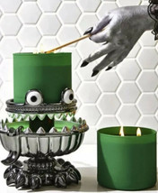 NEW Bath & Body Works Halloween 2021 Monster Light Up 3 Wick Candle Holder - $125.58