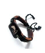 A68 Unisex leather fish bracelet  - $25.44
