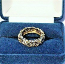 Jacqueline Kennedy Sterling Unity Eternity Band Ring-Replica Camrose & K... - $75.00
