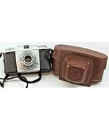 Kodak Pony 135 Camera With Kodak Leather Field Case Untested Free Shipping - $19.79