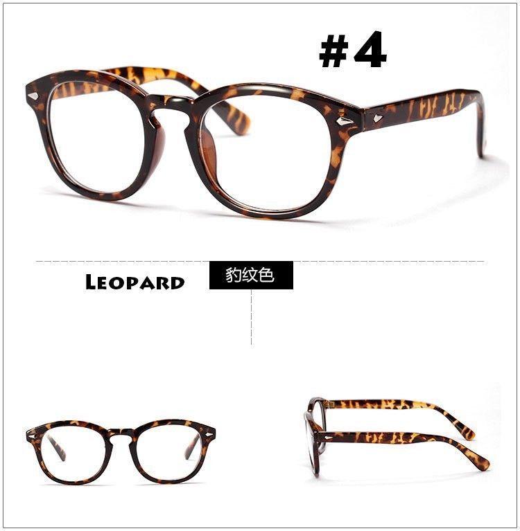 55f3279cfe5 High Quality Frame For Glasses Johnny Depp Vintage Eyewear Black Tortoise  2018