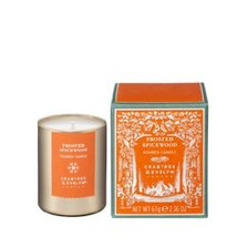 Crabtree & Evelyn MINI Frosted Spicewood Fragrance SMALL Scented Candle 2.36 Oz - $20.00