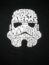 Star Wars Storm Trooper Typography T Shirt Sz XL Imperial Empire Sci Fi ... - $18.99