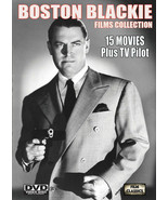 BOSTON BLACKIE FILMS COLLECTION - 15 MOVIES - 8 DVD-R - $36.61