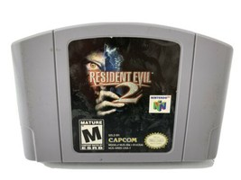Resident Evil 2 (Nintendo 64, 1999) Video Game N64 Cartouche - $46.77