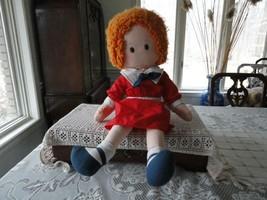 Ganz Knickerbocker Little Orphan Annie Doll 2 Feet Tall - $175.43